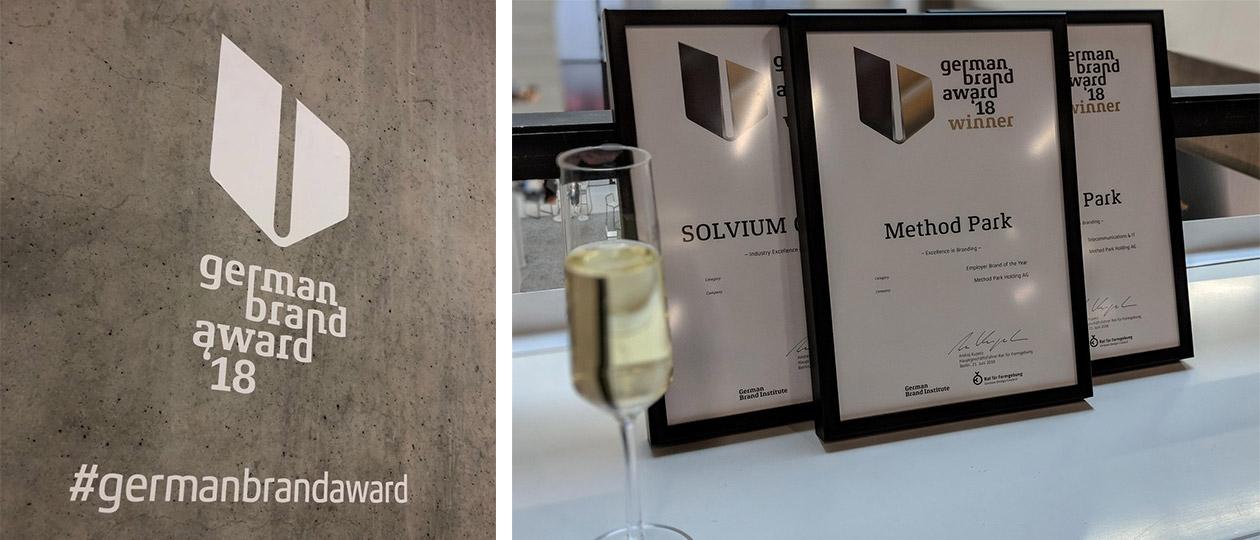comdeluxe gewinnt 4x German Brand Award 2018