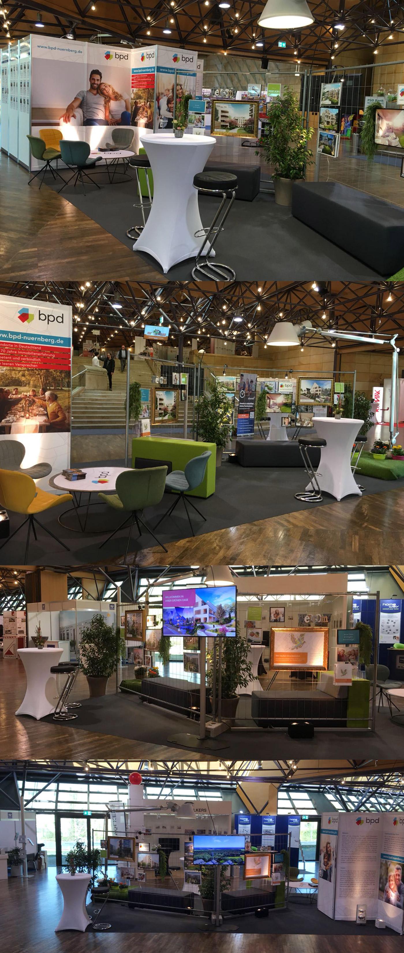 BPD Immobilienentwicklung Messe Stadthalle Fürth
